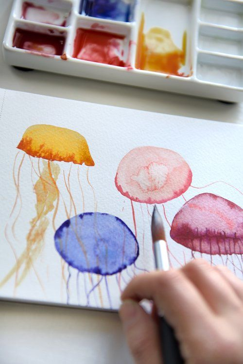 Easy Watercolor Art Ideas