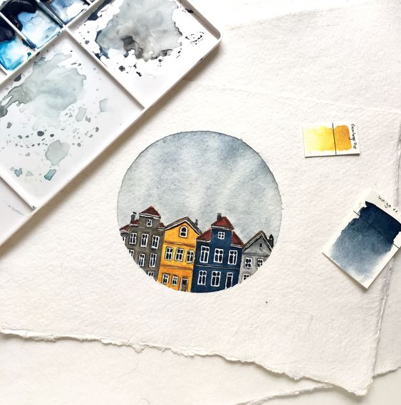 Easy Watercolor Art Painting Ideas