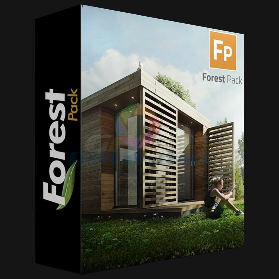 Itoo Software Forest Pack Pro V.6.1.1 + Library for 3ds Max