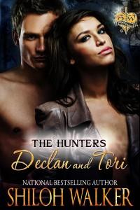 Hunters Declan and Tori