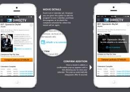 DIRECTV Calendar mobile design2
