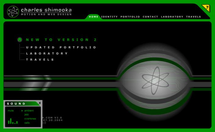 Shimooka.com - home page