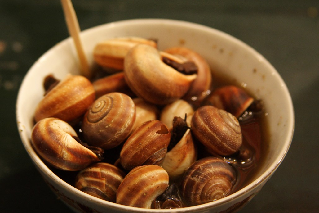 Snail soup in Dar Djemma el Fna, Marrakesh