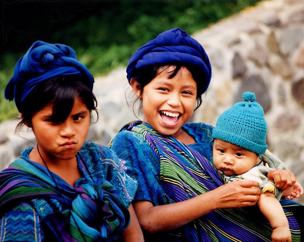 Girls in Panajachel, Guatemala