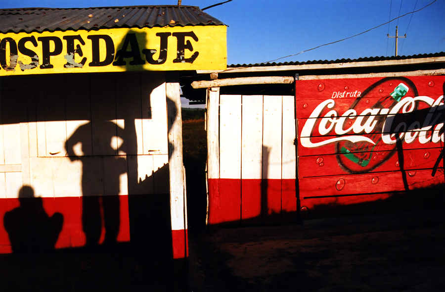 An abandoned hospedaje in Southern Mexico, near the Guatemalan border
