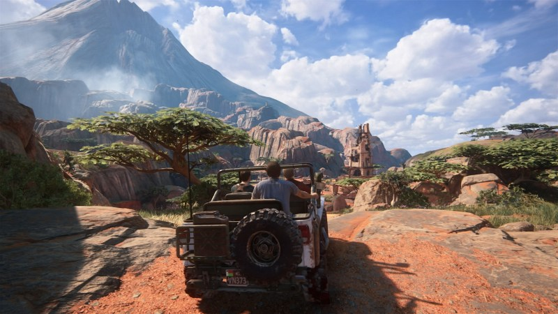 Uncharted 4: Jeep