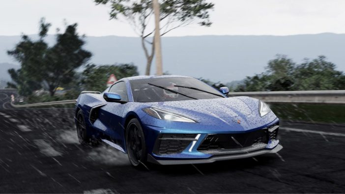 A screenshot from Project CARS 3