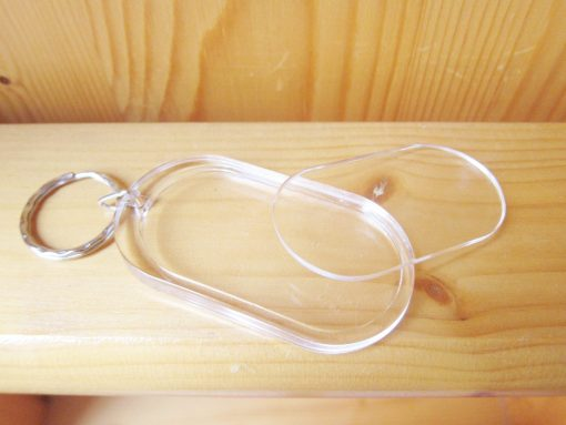photo kerying oval