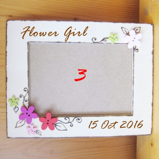 wedding photo frame flower2
