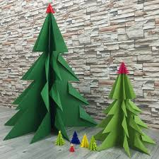 Easy Paper X'mas Tree origami for kids
