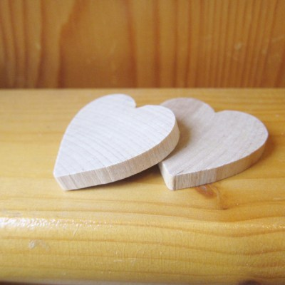 diy heart magnet