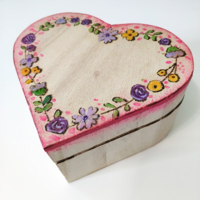 custom valentine jewelry box