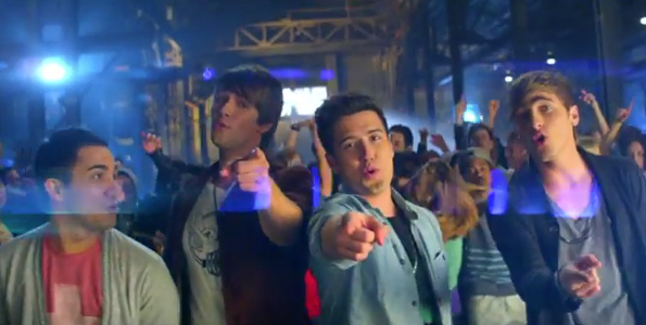 Big Time Rush Music Sounds Better With U Music Video