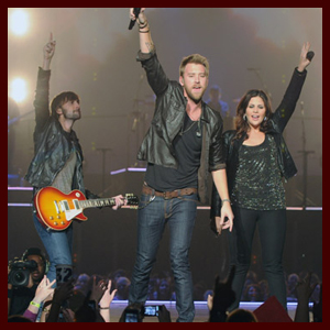 Lady Antebellum Own the Night Tour