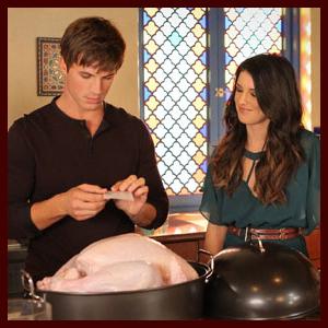 """90210"" Celebrates a Dramatic Thanksgiving in 'Smoked Turkey' Tonight (Photos)"