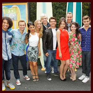 """Teen Beach Movie"" Cast Reunites for Premiere Screening"