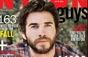 Liam Hemsworth Covers NYLON Guys – No Bad Blood with Miley Cyrus