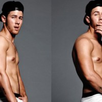 Nick Jonas Strips to His Underwear for FLAUNT Magazine + Sexy Cosmopolitan Photoshoot