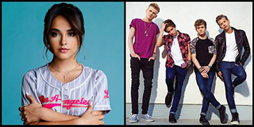 Becky G & The Vamps to Headline Canada's Family Channel Big Ticket Summer Concert Series