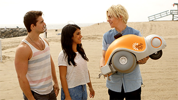 "The Cast of ""Teen Beach 2"" Team Up with the BeachBot & Disney's Summer of Creativity"