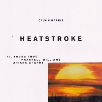 "Ariana Grande Teams Up with Calvin Harris & More for ""Heatstroke"""