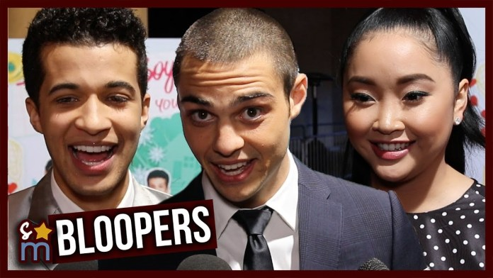 Noah Centineo, Lana Condor & Jordan Fisher Reveal Favorite Bloopers From 'To All The Boys: PS I Still Love You'
