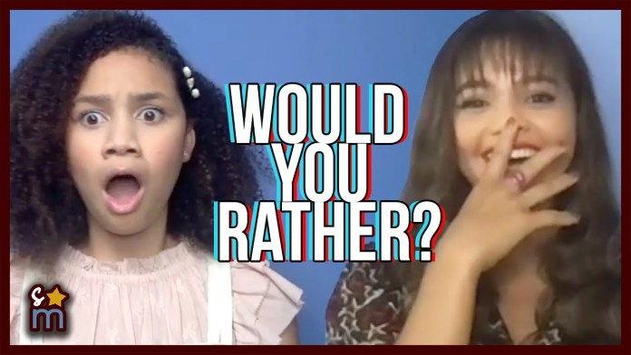 """'Upside-Down Magic' Cast Play Fun Game of """"Would You Rather?"""""""