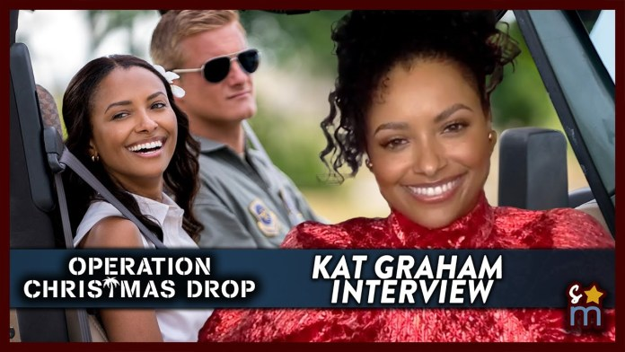 Kat Graham Talks 'Operation Christmas Drop' & Misconceptions in Hollywood