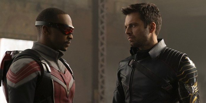 """Anthony Mackie & Sebastian Stan Suit Up for New """"Falcon & Winter Soldier"""" Photos & New Character Revealed"""