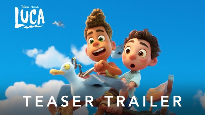 Disney & Pixar Releases the First Teaser Trailer for 'Luca' – Watch Now!