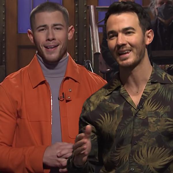 Nick Jonas Addresses Jonas Brothers Breakup Rumors in SNL Monologue with Help From Kevin Jonas
