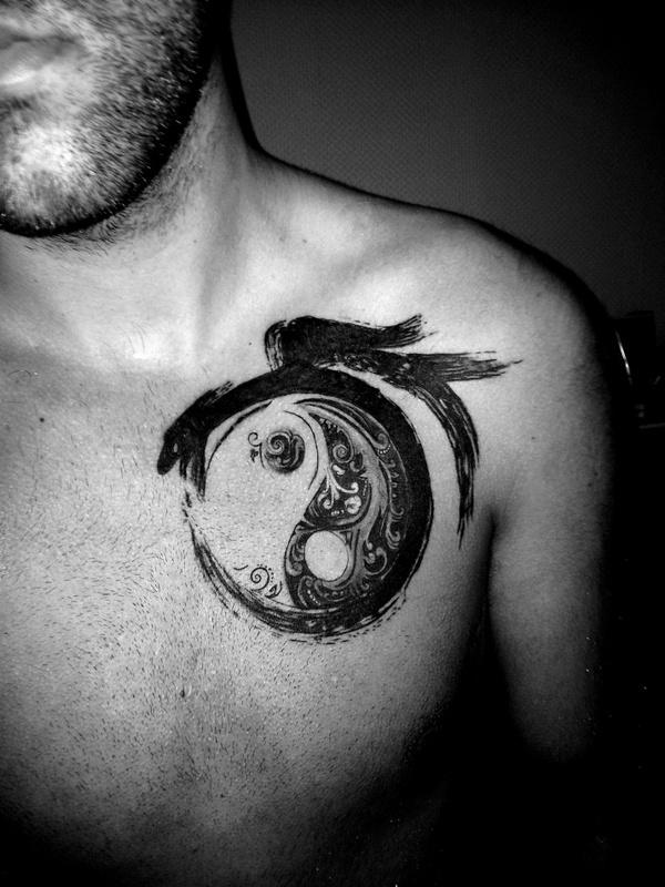yin yang tattoo senso
