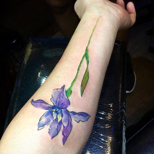 iris tatuaggio