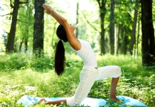 yoga outdoor