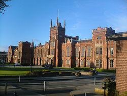 貝爾法斯特女王大學,Queen's University Belfast,貝爾法斯特女王大學排名,貝爾法斯特女王大學簡介