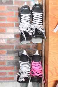 Garage Organization: Skate & Ski Storage