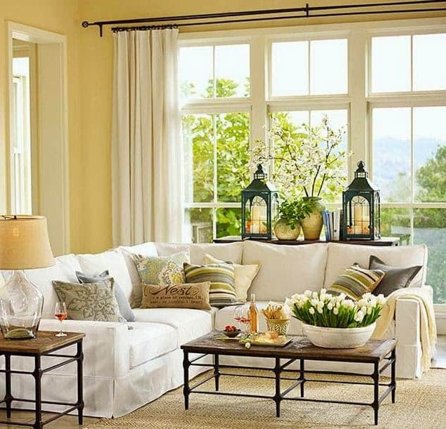 living room window sill decorating ideas coffee table sets for styling bay sills shine your light