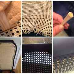 How To Recane A Chair Upholstered Arm Dining Re Caning Furniture Is It Diy Shine Your Light