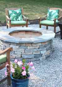 Installing A Pea Stone Patio - Shine Your Light