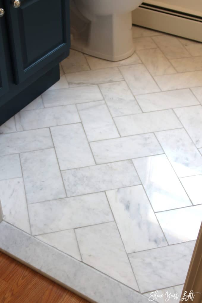 Image Result For How To Lay A Tile Floor In A Bathroom