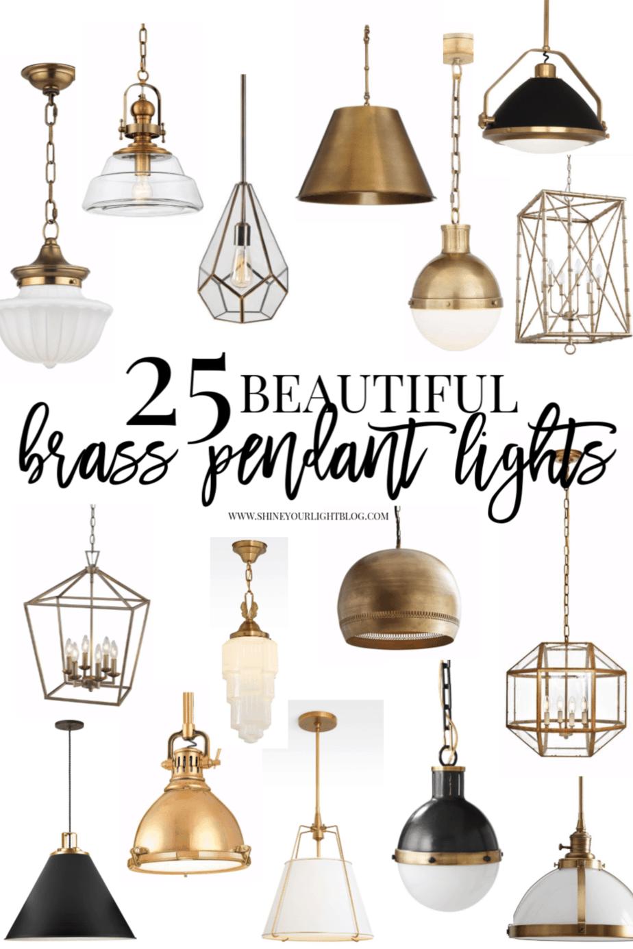 brass pendant lighting shine your light