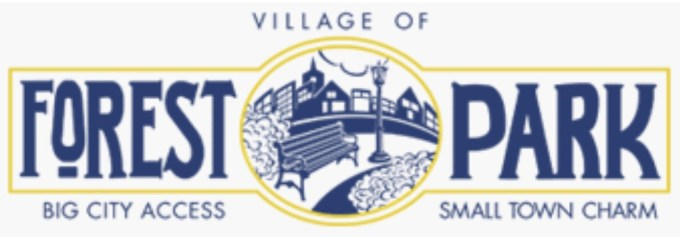 village of Forest Park logo with link to building code page