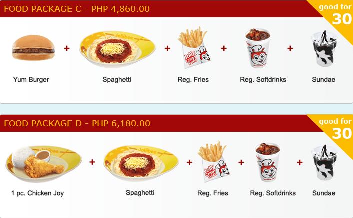 List Jollibee Philippines Menu Price