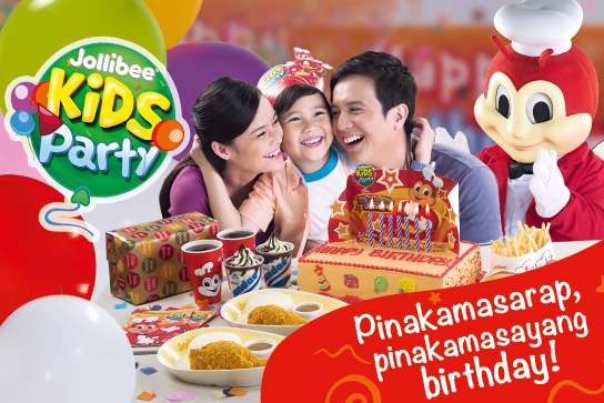 2017 Jollibee Party Packages!