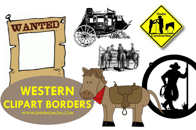 Where to Find Free Western Clipart Borders