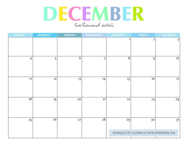 ... printable november 2016 calendar free printable december 2016 calendar