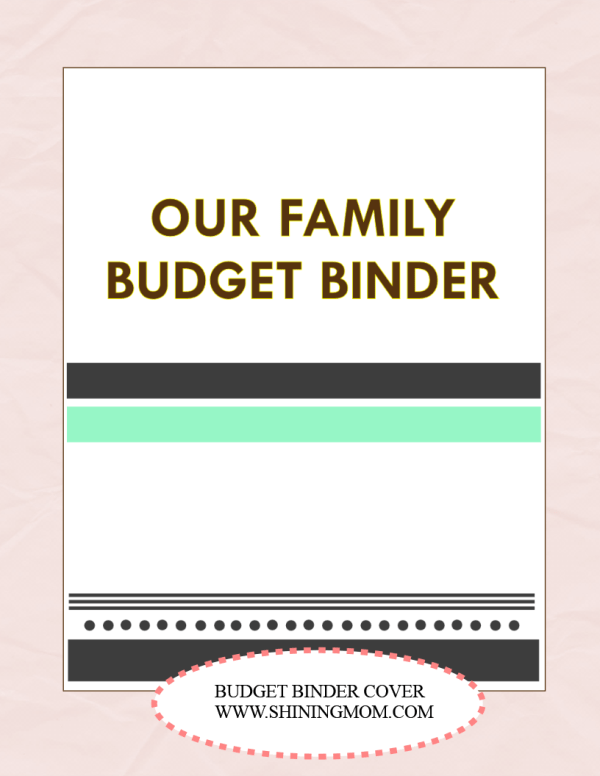 save money  use our free budget binder