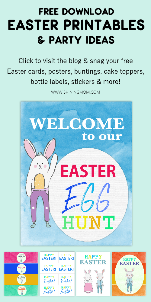 free easter printables cards