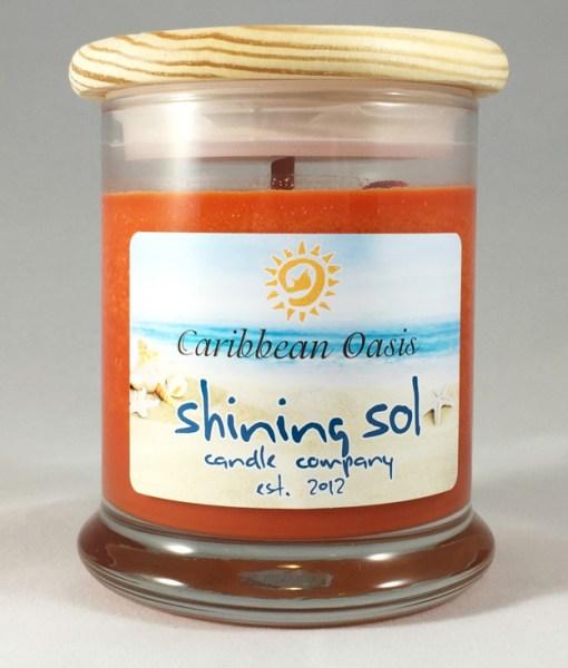Coastal Collection - Caribbean Oasis - Medium Jar