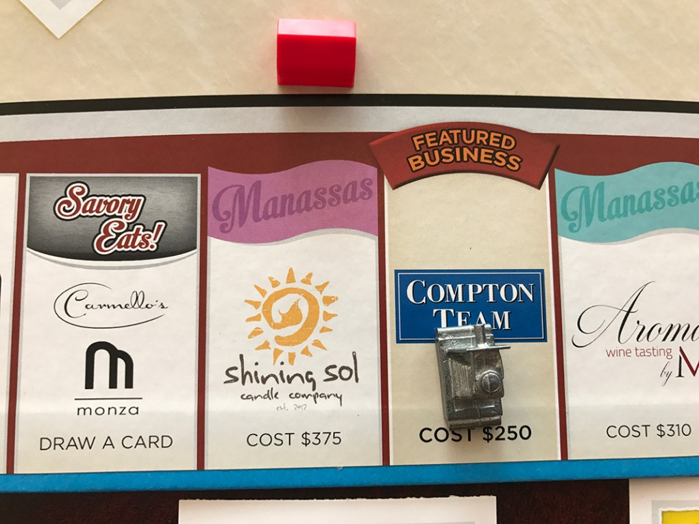 Manassas-Opoly Game